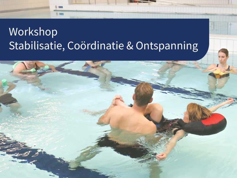 workshop hydrotherapie stabilisatie