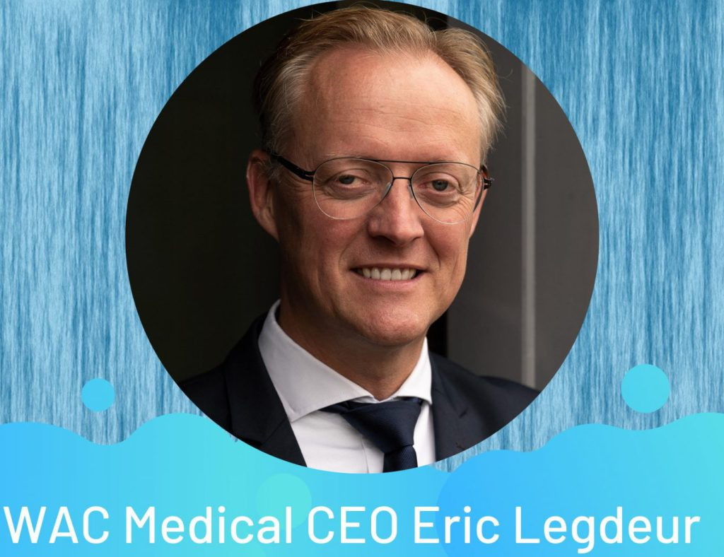 Podcast Channel Aquatics comes out with an interview with EWAC Medical CEO Eric Legdeur